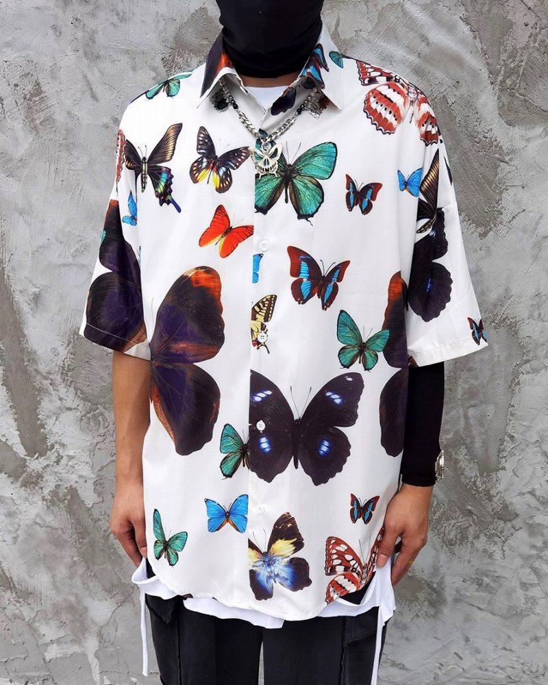 オーバーサイズバタフライ半袖シャツの画像1